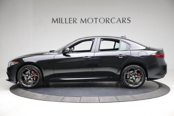 New 2021 Alfa Romeo Giulia Ti Sport Q4 for sale $53,850 at Rolls-Royce Motor Cars Greenwich in Greenwich CT 06830 3