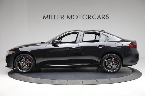 New 2021 Alfa Romeo Giulia Ti Sport Q4 for sale $53,850 at Rolls-Royce Motor Cars Greenwich in Greenwich CT 06830 4