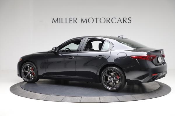 New 2021 Alfa Romeo Giulia Ti Sport Q4 for sale $53,850 at Rolls-Royce Motor Cars Greenwich in Greenwich CT 06830 5