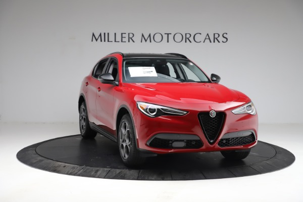 New 2021 Alfa Romeo Stelvio Q4 for sale $50,535 at Rolls-Royce Motor Cars Greenwich in Greenwich CT 06830 12