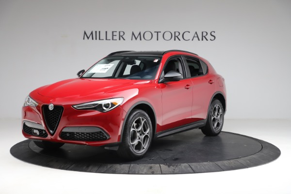 New 2021 Alfa Romeo Stelvio Q4 for sale $49,935 at Rolls-Royce Motor Cars Greenwich in Greenwich CT 06830 2