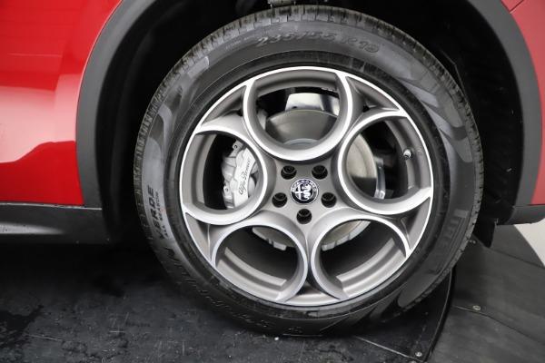 New 2021 Alfa Romeo Stelvio Q4 for sale $50,535 at Rolls-Royce Motor Cars Greenwich in Greenwich CT 06830 28