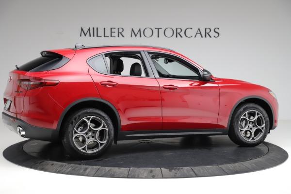 New 2021 Alfa Romeo Stelvio Q4 for sale $50,535 at Rolls-Royce Motor Cars Greenwich in Greenwich CT 06830 9