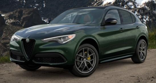 New 2021 Alfa Romeo Stelvio Ti Sport Q4 for sale $56,400 at Rolls-Royce Motor Cars Greenwich in Greenwich CT 06830 1