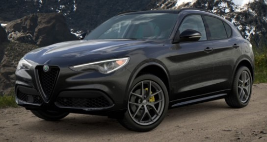 New 2021 Alfa Romeo Stelvio Ti Sport Q4 for sale $57,395 at Rolls-Royce Motor Cars Greenwich in Greenwich CT 06830 1