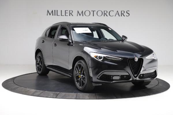 New 2021 Alfa Romeo Stelvio Ti Sport Q4 for sale $57,595 at Rolls-Royce Motor Cars Greenwich in Greenwich CT 06830 11