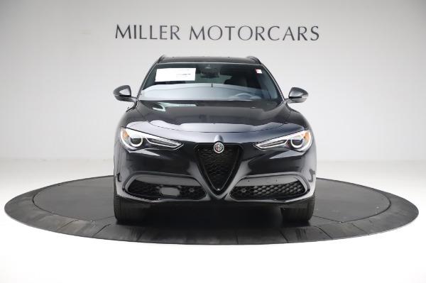 New 2021 Alfa Romeo Stelvio Ti Sport Q4 for sale $57,595 at Rolls-Royce Motor Cars Greenwich in Greenwich CT 06830 12