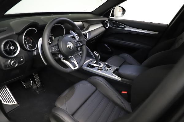 New 2021 Alfa Romeo Stelvio Ti Sport Q4 for sale $57,595 at Rolls-Royce Motor Cars Greenwich in Greenwich CT 06830 13
