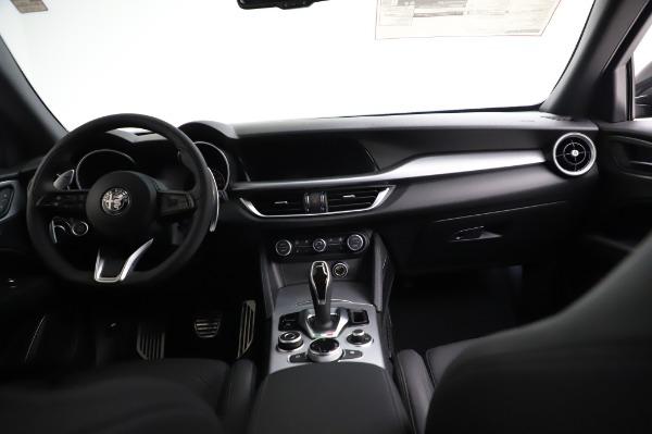 New 2021 Alfa Romeo Stelvio Ti Sport Q4 for sale $57,595 at Rolls-Royce Motor Cars Greenwich in Greenwich CT 06830 16