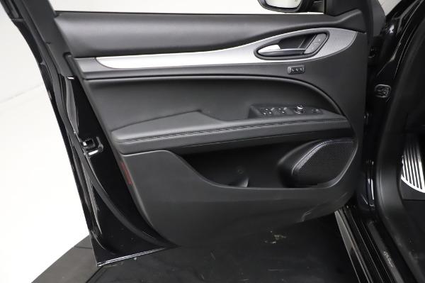 New 2021 Alfa Romeo Stelvio Ti Sport Q4 for sale $57,595 at Rolls-Royce Motor Cars Greenwich in Greenwich CT 06830 17
