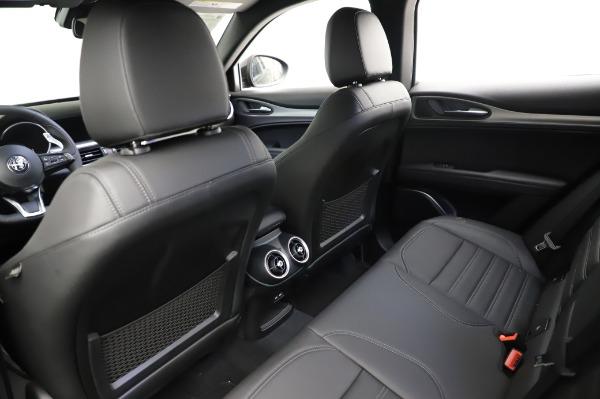 New 2021 Alfa Romeo Stelvio Ti Sport Q4 for sale $57,595 at Rolls-Royce Motor Cars Greenwich in Greenwich CT 06830 18