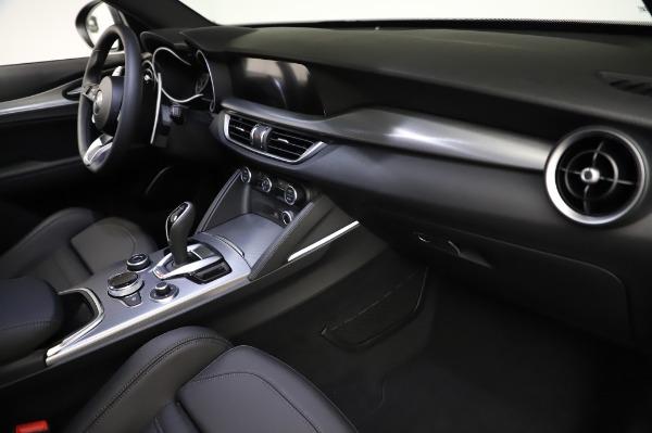 New 2021 Alfa Romeo Stelvio Ti Sport Q4 for sale $57,595 at Rolls-Royce Motor Cars Greenwich in Greenwich CT 06830 22