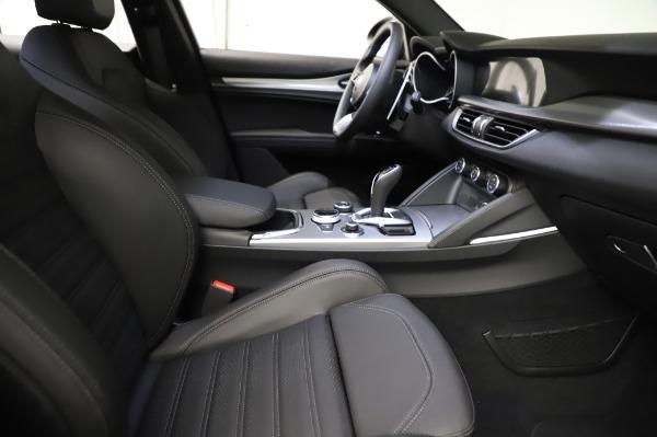 New 2021 Alfa Romeo Stelvio Ti Sport Q4 for sale $57,595 at Rolls-Royce Motor Cars Greenwich in Greenwich CT 06830 23