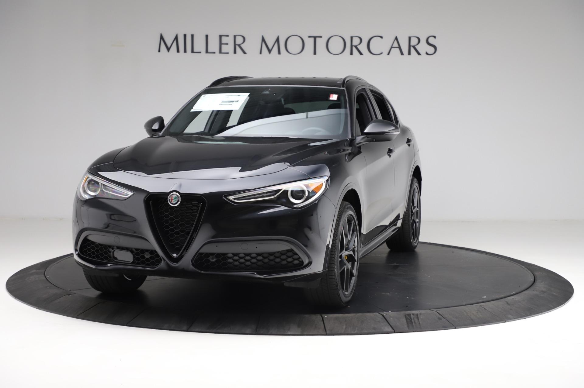 New 2021 Alfa Romeo Stelvio Ti Sport Q4 for sale $57,395 at Rolls-Royce Motor Cars Greenwich in Greenwich CT 06830 1