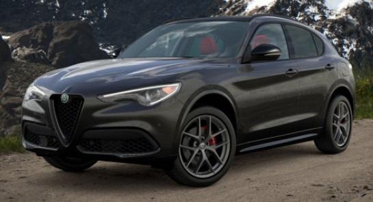 New 2021 Alfa Romeo Stelvio Ti Sport for sale $55,950 at Rolls-Royce Motor Cars Greenwich in Greenwich CT 06830 1