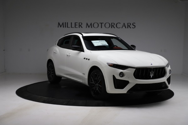 New 2021 Maserati Levante S Q4 GranSport for sale $105,835 at Rolls-Royce Motor Cars Greenwich in Greenwich CT 06830 12