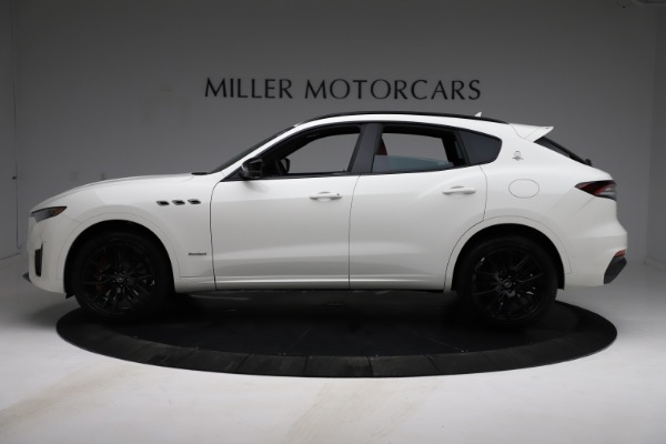 New 2021 Maserati Levante S Q4 GranSport for sale $105,835 at Rolls-Royce Motor Cars Greenwich in Greenwich CT 06830 3