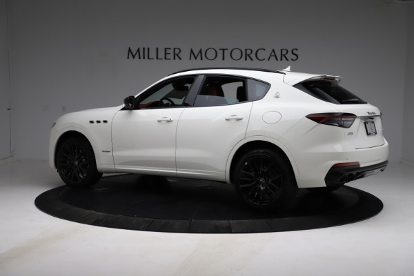New 2021 Maserati Levante S Q4 GranSport for sale $105,835 at Rolls-Royce Motor Cars Greenwich in Greenwich CT 06830 5