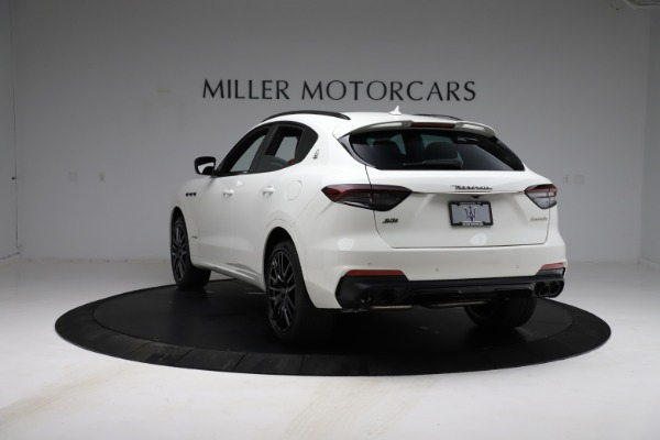 New 2021 Maserati Levante S Q4 GranSport for sale $105,835 at Rolls-Royce Motor Cars Greenwich in Greenwich CT 06830 6