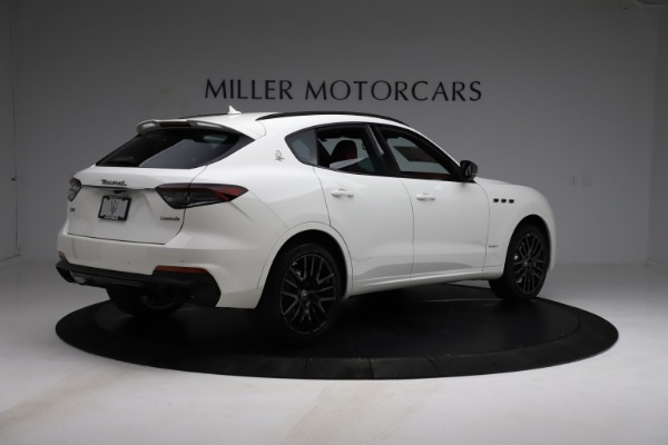 New 2021 Maserati Levante S Q4 GranSport for sale $105,835 at Rolls-Royce Motor Cars Greenwich in Greenwich CT 06830 9