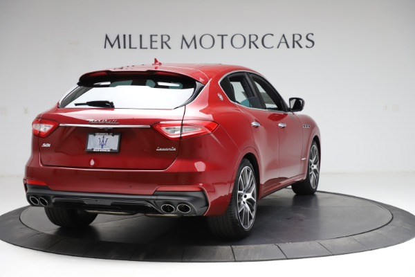 New 2020 Maserati Levante S Q4 GranSport for sale Sold at Rolls-Royce Motor Cars Greenwich in Greenwich CT 06830 7