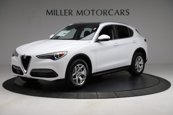 New 2021 Alfa Romeo Stelvio Q4 for sale $49,185 at Rolls-Royce Motor Cars Greenwich in Greenwich CT 06830 2