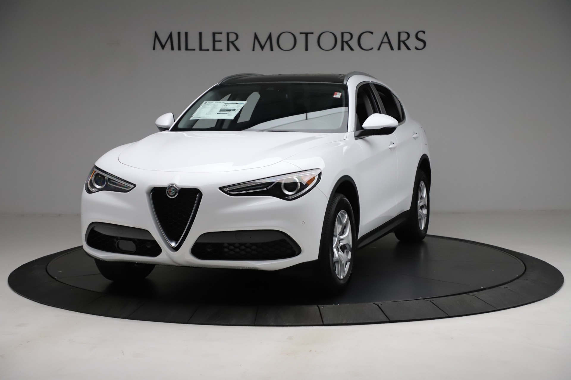 New 2021 Alfa Romeo Stelvio Q4 for sale $49,185 at Rolls-Royce Motor Cars Greenwich in Greenwich CT 06830 1