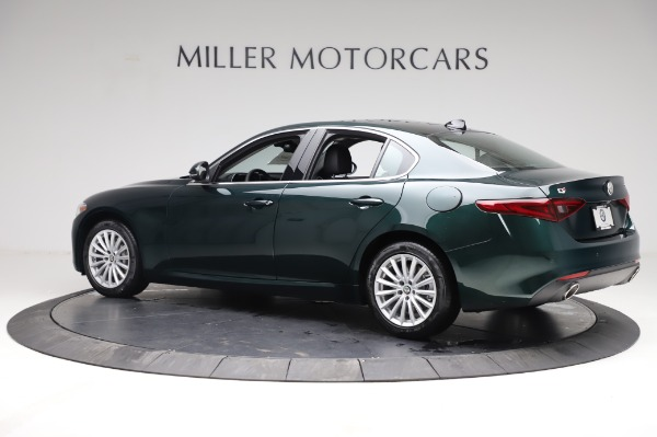 New 2021 Alfa Romeo Giulia Q4 for sale $46,895 at Rolls-Royce Motor Cars Greenwich in Greenwich CT 06830 4