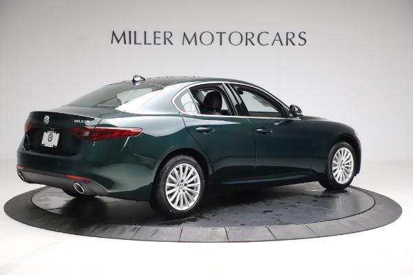 New 2021 Alfa Romeo Giulia Q4 for sale $46,895 at Rolls-Royce Motor Cars Greenwich in Greenwich CT 06830 8