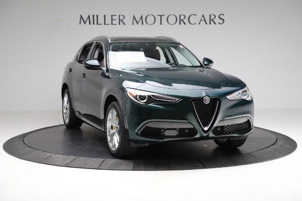 New 2021 Alfa Romeo Stelvio Ti Q4 for sale Sold at Rolls-Royce Motor Cars Greenwich in Greenwich CT 06830 12