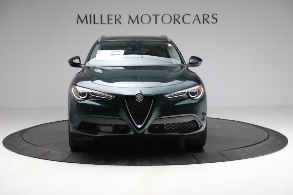 New 2021 Alfa Romeo Stelvio Ti Q4 for sale Sold at Rolls-Royce Motor Cars Greenwich in Greenwich CT 06830 13