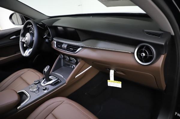 New 2021 Alfa Romeo Stelvio Ti Q4 for sale Sold at Rolls-Royce Motor Cars Greenwich in Greenwich CT 06830 22