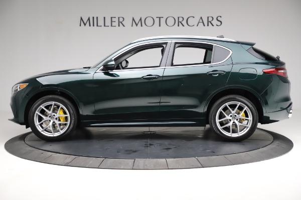 New 2021 Alfa Romeo Stelvio Ti Q4 for sale Sold at Rolls-Royce Motor Cars Greenwich in Greenwich CT 06830 3