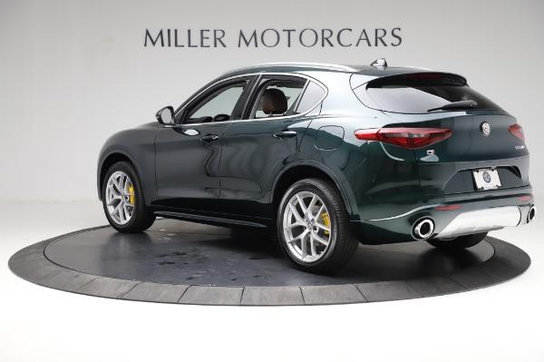 New 2021 Alfa Romeo Stelvio Ti Q4 for sale Sold at Rolls-Royce Motor Cars Greenwich in Greenwich CT 06830 4