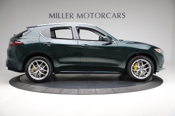New 2021 Alfa Romeo Stelvio Ti Q4 for sale Sold at Rolls-Royce Motor Cars Greenwich in Greenwich CT 06830 9