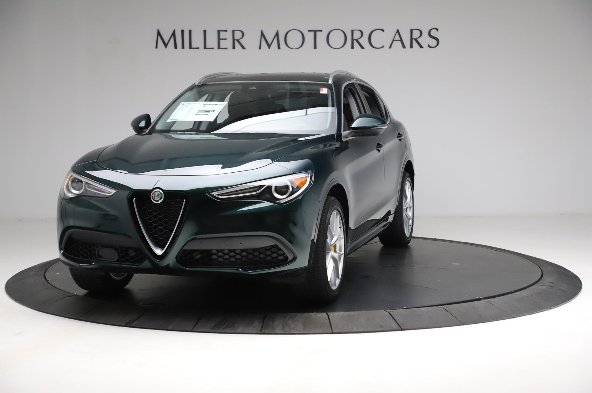 New 2021 Alfa Romeo Stelvio Ti Q4 for sale $53,800 at Rolls-Royce Motor Cars Greenwich in Greenwich CT 06830 1