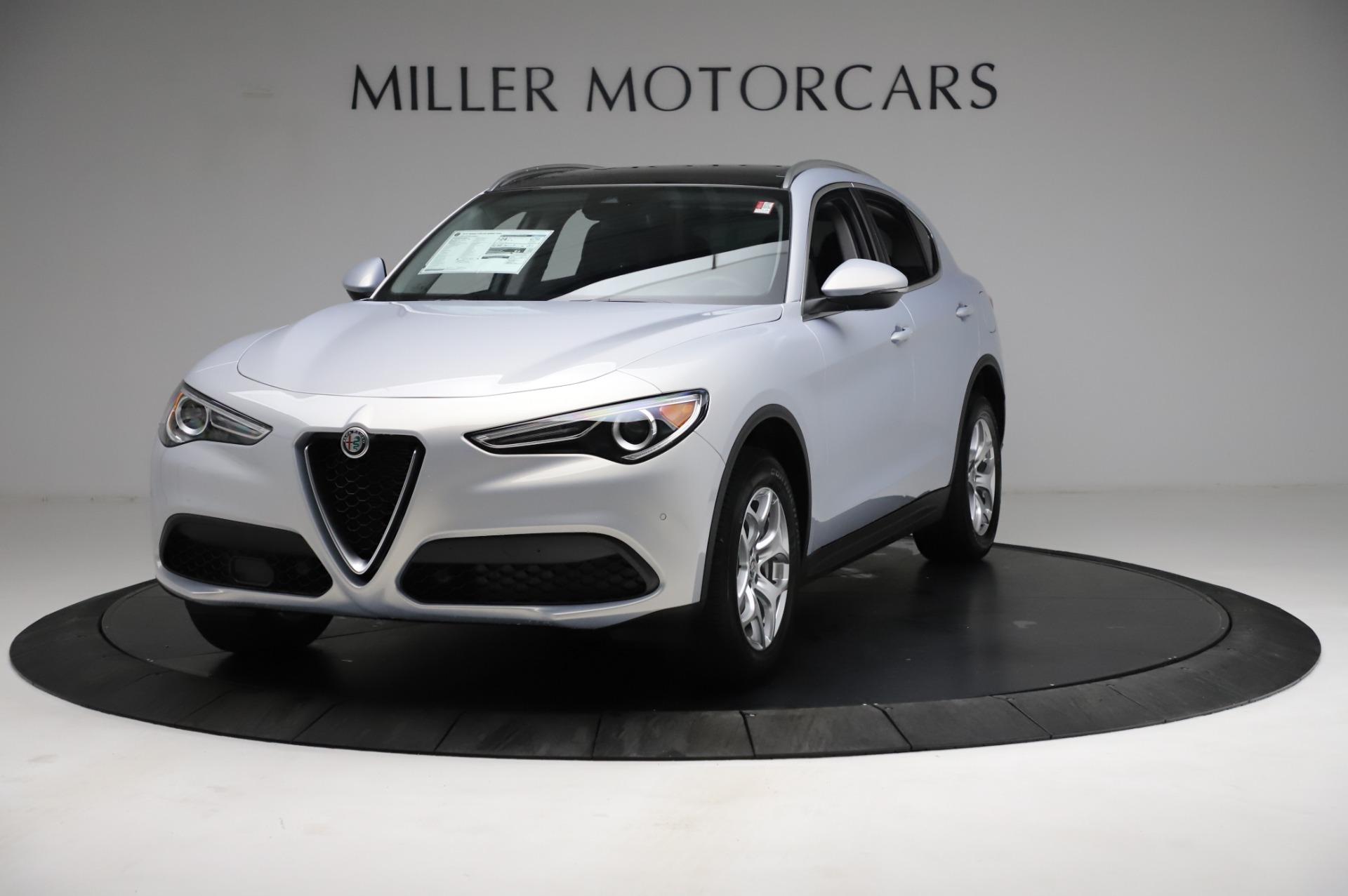 New 2021 Alfa Romeo Stelvio Q4 for sale $50,145 at Rolls-Royce Motor Cars Greenwich in Greenwich CT 06830 1