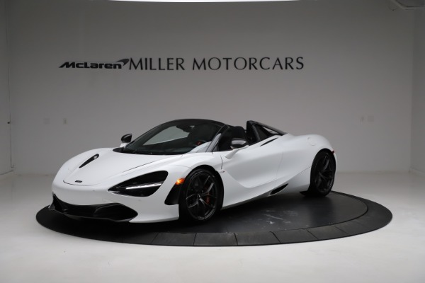 Used 2020 McLaren 720S Spider for sale Sold at Rolls-Royce Motor Cars Greenwich in Greenwich CT 06830 1