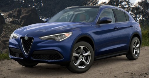 New 2021 Alfa Romeo Stelvio Q4 for sale $49,645 at Rolls-Royce Motor Cars Greenwich in Greenwich CT 06830 1