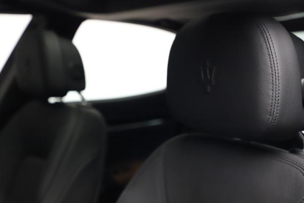 New 2021 Maserati Ghibli S Q4 for sale $90,525 at Rolls-Royce Motor Cars Greenwich in Greenwich CT 06830 16