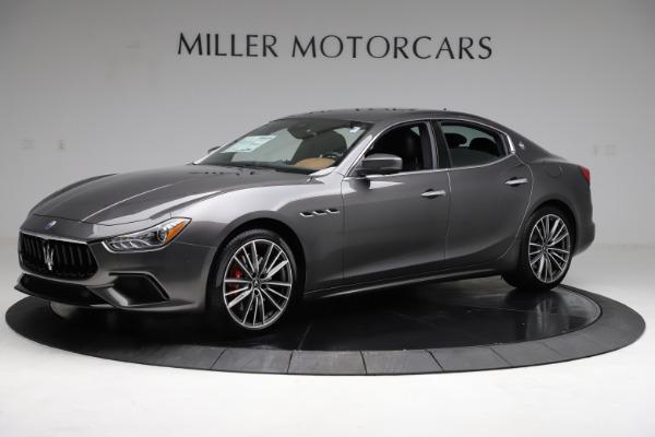 New 2021 Maserati Ghibli S Q4 for sale $90,525 at Rolls-Royce Motor Cars Greenwich in Greenwich CT 06830 2