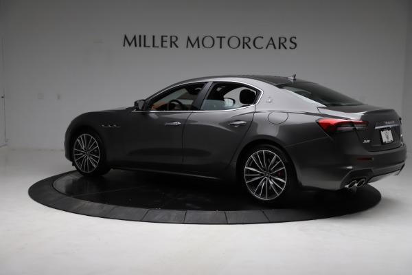 New 2021 Maserati Ghibli S Q4 for sale $90,525 at Rolls-Royce Motor Cars Greenwich in Greenwich CT 06830 5