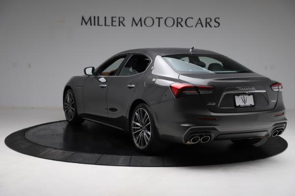 New 2021 Maserati Ghibli S Q4 for sale $90,525 at Rolls-Royce Motor Cars Greenwich in Greenwich CT 06830 6
