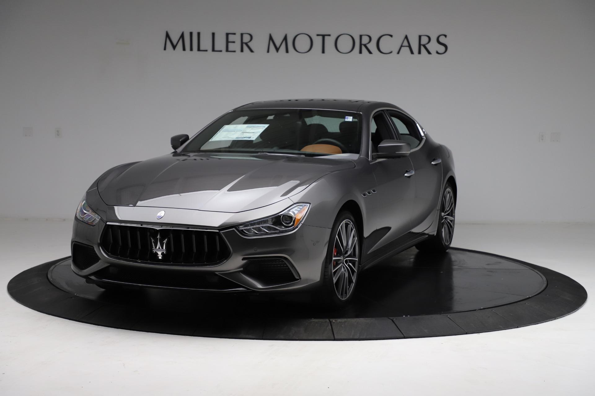 New 2021 Maserati Ghibli S Q4 for sale $90,525 at Rolls-Royce Motor Cars Greenwich in Greenwich CT 06830 1