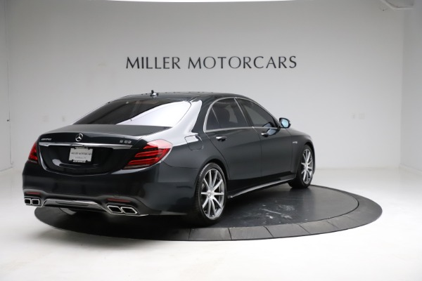 Used 2019 Mercedes-Benz S-Class AMG S 63 for sale $122,900 at Rolls-Royce Motor Cars Greenwich in Greenwich CT 06830 11