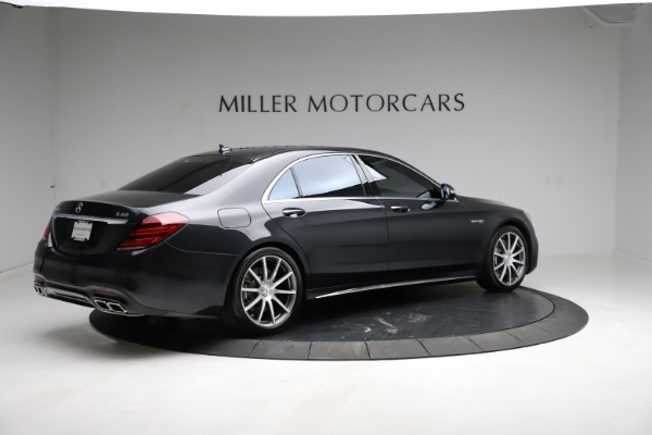 Used 2019 Mercedes-Benz S-Class AMG S 63 for sale $122,900 at Rolls-Royce Motor Cars Greenwich in Greenwich CT 06830 12