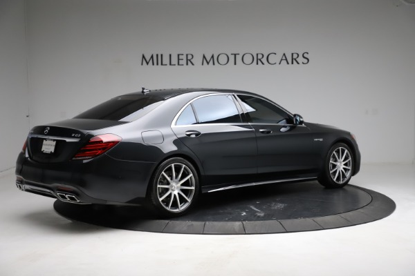 Used 2019 Mercedes-Benz S-Class AMG S 63 for sale $122,900 at Rolls-Royce Motor Cars Greenwich in Greenwich CT 06830 13