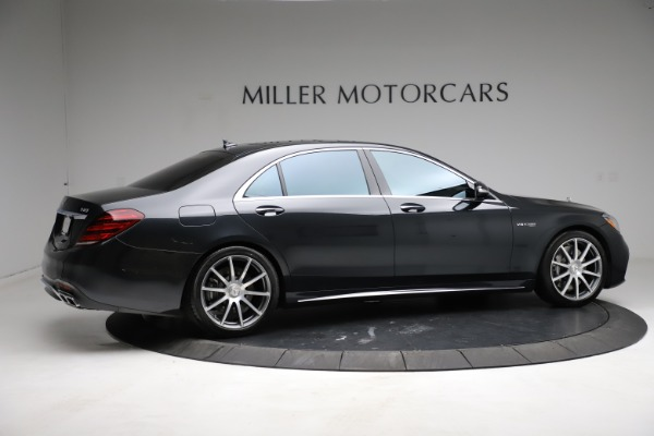 Used 2019 Mercedes-Benz S-Class AMG S 63 for sale $122,900 at Rolls-Royce Motor Cars Greenwich in Greenwich CT 06830 14