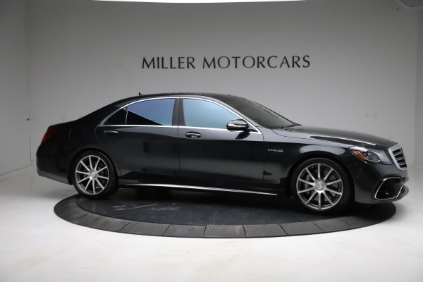 Used 2019 Mercedes-Benz S-Class AMG S 63 for sale $122,900 at Rolls-Royce Motor Cars Greenwich in Greenwich CT 06830 16