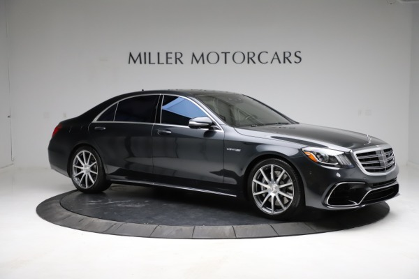 Used 2019 Mercedes-Benz S-Class AMG S 63 for sale $122,900 at Rolls-Royce Motor Cars Greenwich in Greenwich CT 06830 18